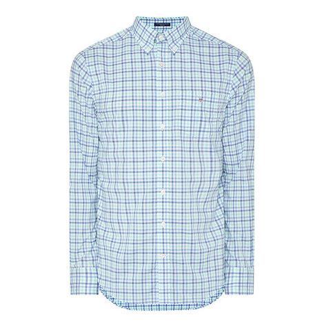 Broadcloth Check Shirt, ${color}