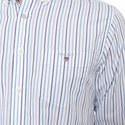 Broadcloth Banker Stripe Shirt, ${color}