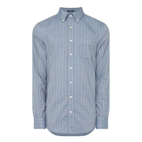 Oxford Tattersall Shirt, ${color}