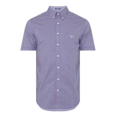 Broadcloth Gingham Shirt, ${color}