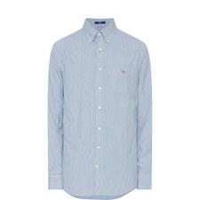 Comfort Oxford Banker Stripe Shirt