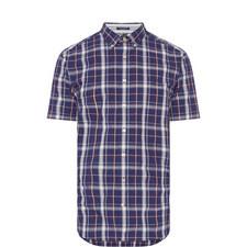 Tech Prep Chambray Check Shirt