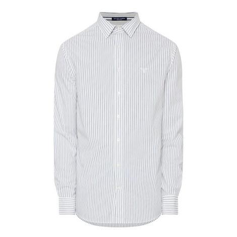 Tech Prep Chambray Stripe Shirt, ${color}