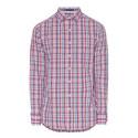 Poplin Plaid Shirt, ${color}