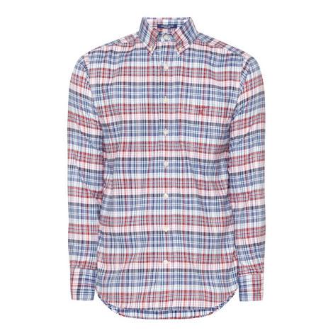 Plaid Oxford Shirt, ${color}