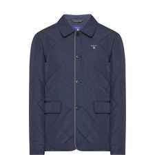 Preppy Quilted Jacket