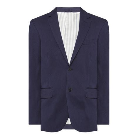 Regular Fit Cotton Blazer, ${color}