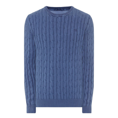 Cable Knit Sweater, ${color}