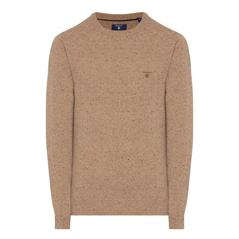 Donegal Knit Wool Mix Sweater, ${color}