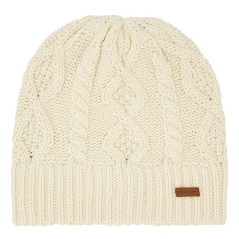 Cable Knit Beanie Hat, ${color}