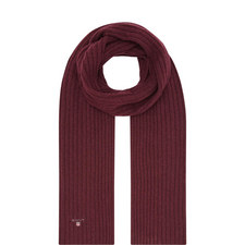 Ribbed Knitted Scarf