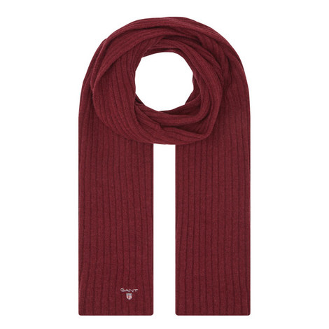 Ribbed Knitted Scarf, ${color}