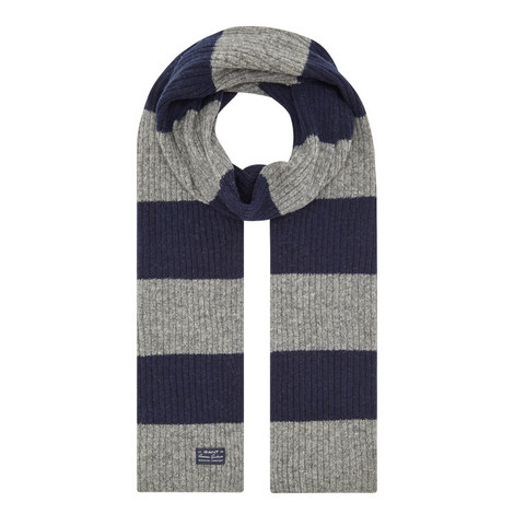 Barstripe Wool Scarf, ${color}