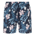 Floral Print Swim Shorts, ${color}