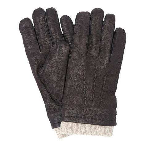 Deer Skin Leather Gloves, ${color}