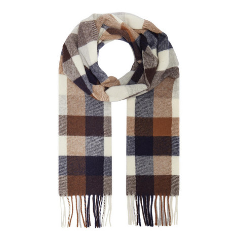 Multi-Check Scarf, ${color}