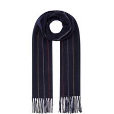 Multi-Stripe Wool Scarf