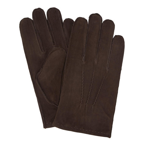 Classic Suede Gloves, ${color}