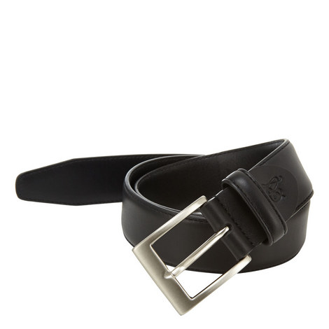 Smooth Leather Belt, ${color}