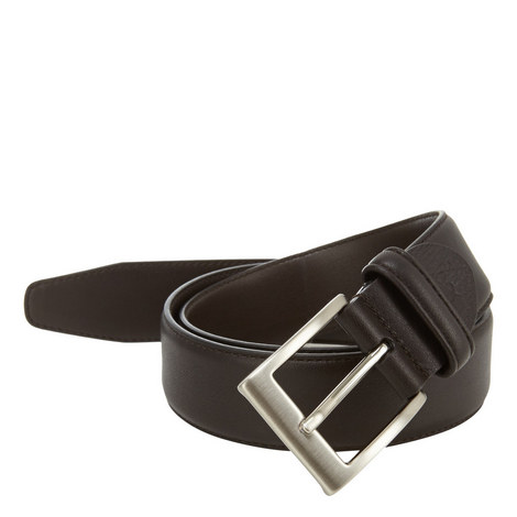 Slim Soft Leather Belt, ${color}