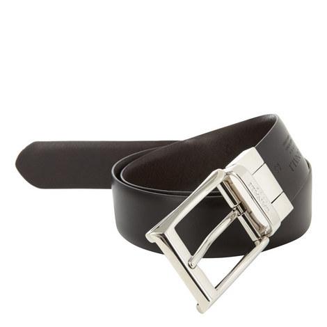 Reversible Leather Belt, ${color}