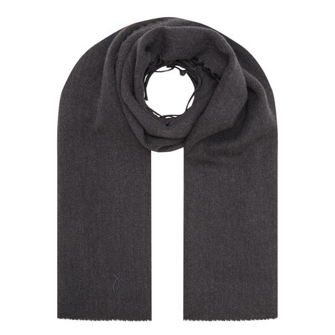 Plain Wool Scarf, ${color}