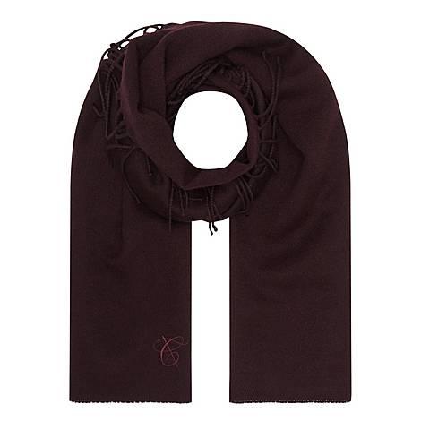 Plain Wool Scarf, ${color}
