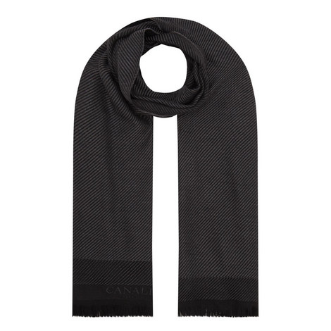 Branded Twill Scarf, ${color}
