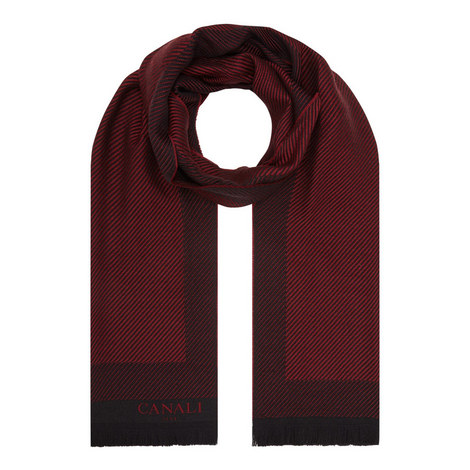 Branded Twill Scarf , ${color}