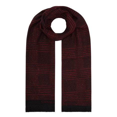Branded Check Scarf, ${color}