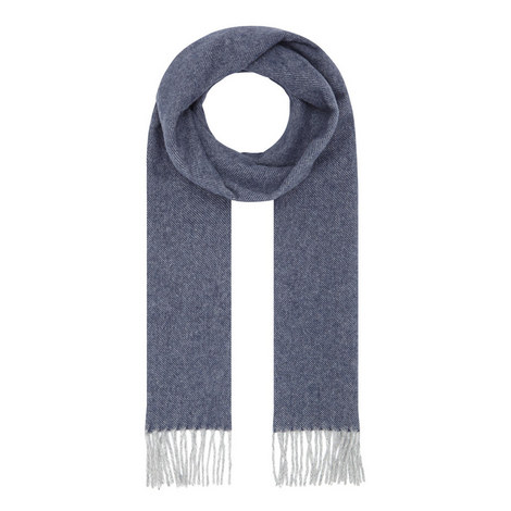 Wool Twill Scarf, ${color}