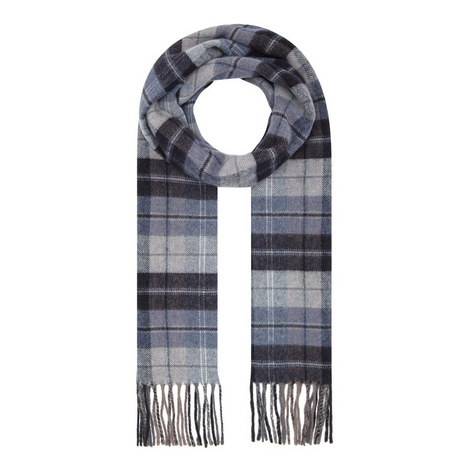 Check Wool Scarf, ${color}