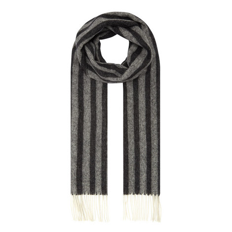 Stripe Wool Scarf, ${color}
