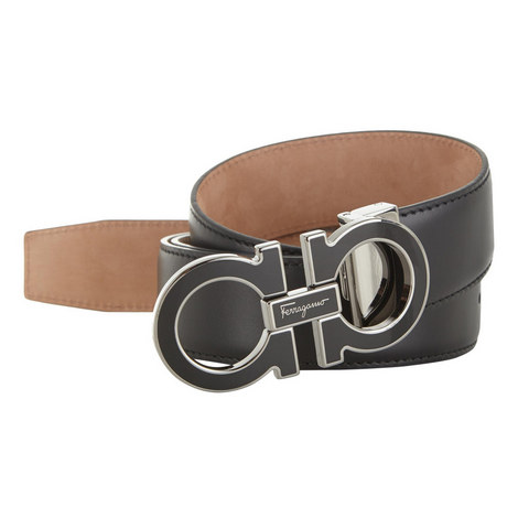 Leather Buckle Belt , ${color}