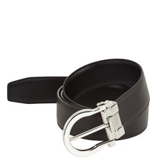 Saddle Buckle Reversible Belt