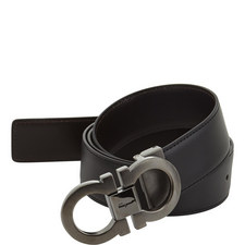 Hickory Buckle Reversible Belt