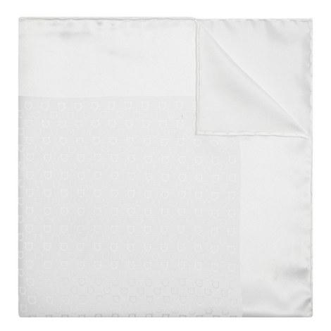 Gancio Logo Pocket Square, ${color}