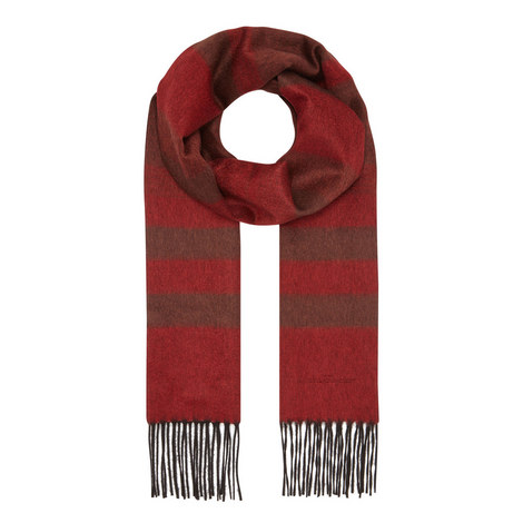 Reversible Fringed Scarf, ${color}
