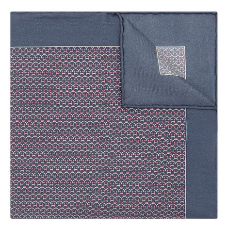 Gancio Print Pocket Square, ${color}