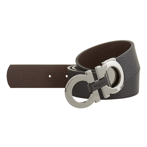 Hickory Grained Leather Belt, ${color}