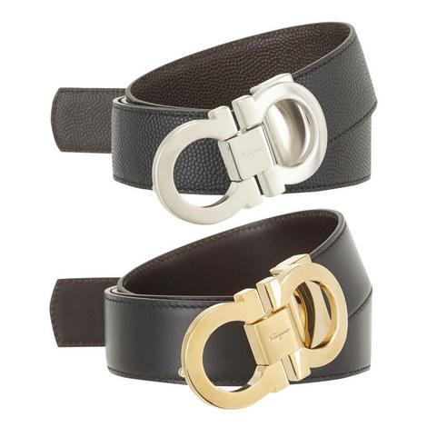 Lucido Reversible Leather Belt, ${color}