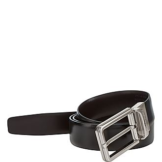 Slim Smooth Leather Belt