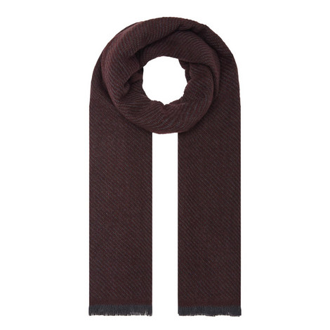Twill Wool Scarf, ${color}