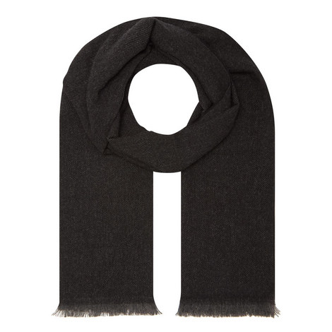 Twill Cashmere Scarf, ${color}