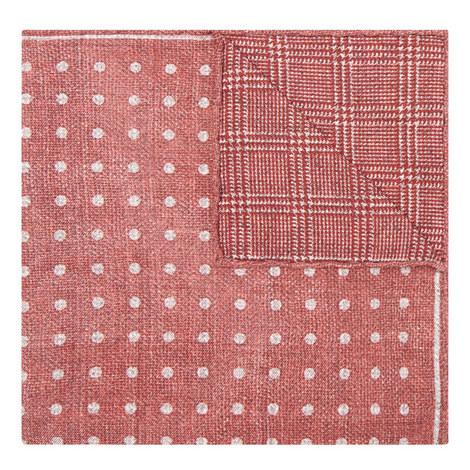 Spot Print Pocket Square, ${color}