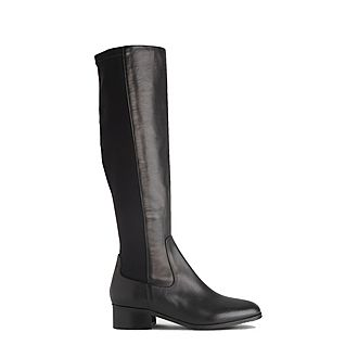 Bella Stretch Knee-High Boots