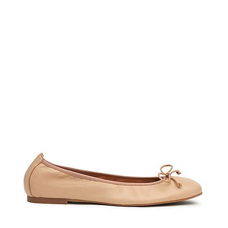 Trilly Ballerina Flat Shoes, ${color}