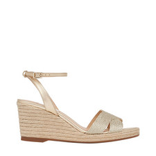 Mabella Rope Wedge Sandals