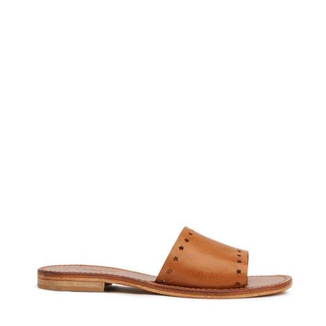 Venchi Greek Slider Sandals, ${color}