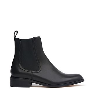 Sophie Leather Chelsea Boots